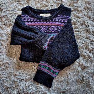 Vintage Ladies New England Knit Sweater M